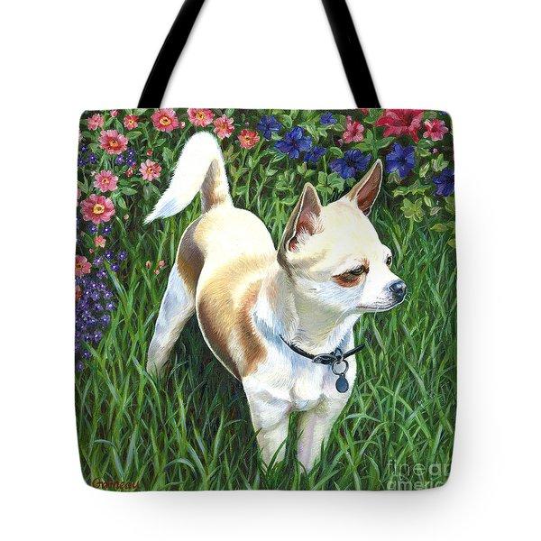 Elvis Tote Bag by Catherine Garneau