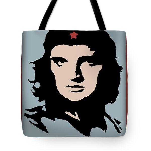 Elvis Che Guevara Viva Las Vegas Tote Bag
