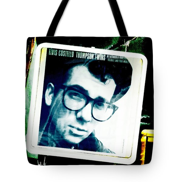 Elvis Costello Tote Bag