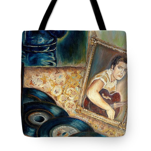Elvis Country Boy Tote Bag by Carole Spandau