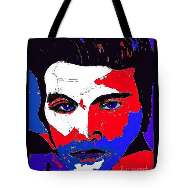 Elvis Made In The U S A Tote Bag