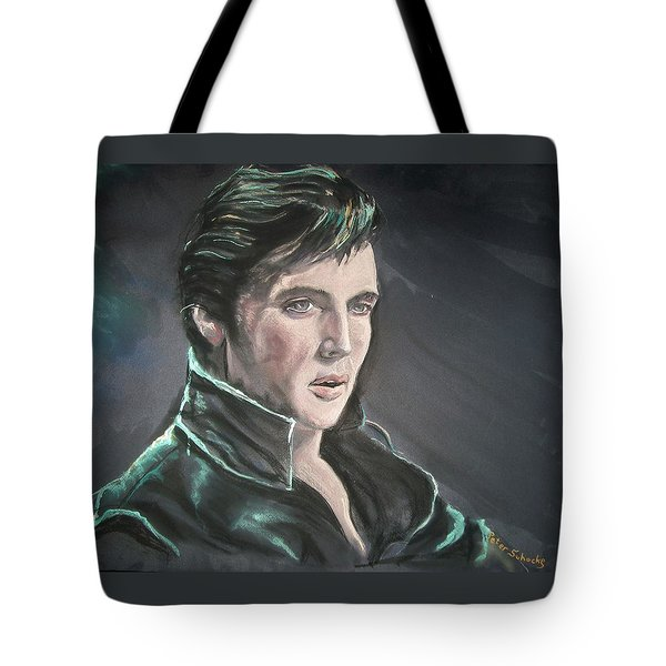 Elvis Tote Bag by Peter Suhocke