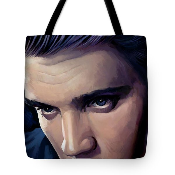Elvis Presley Artwork 2 Tote Bag by Sheraz A