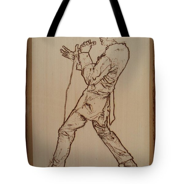 Elvis Presley - If I Can Dream Tote Bag