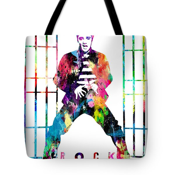 Elvis Presley Jail House Rock Tote Bag