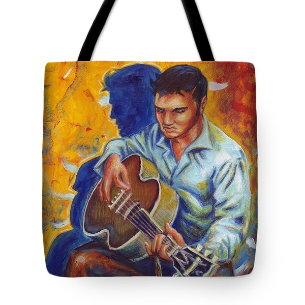 Elvis Presley- Shadow Duet Tote Bag
