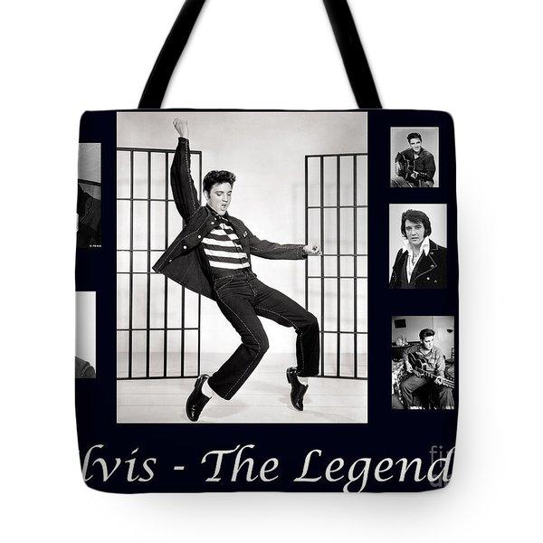 Elvis Presley - The Legend Tote Bag