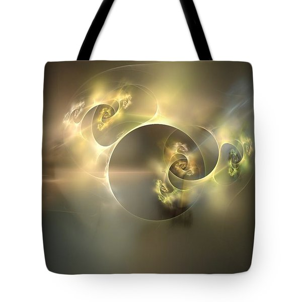Emani Equals Peace Tote Bag by Peter R Nicholls