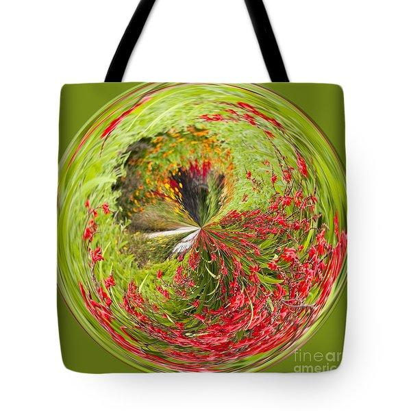 Emberglow Orb Tote Bag by Anne Gilbert