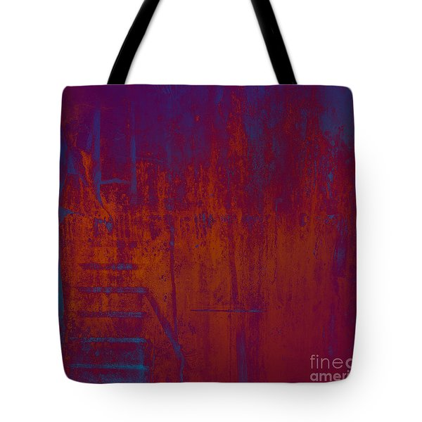 Tote Bag featuring the digital art Embers by Ken Walker