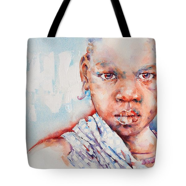 Embolden - African Portrait Tote Bag by Stephie Butler