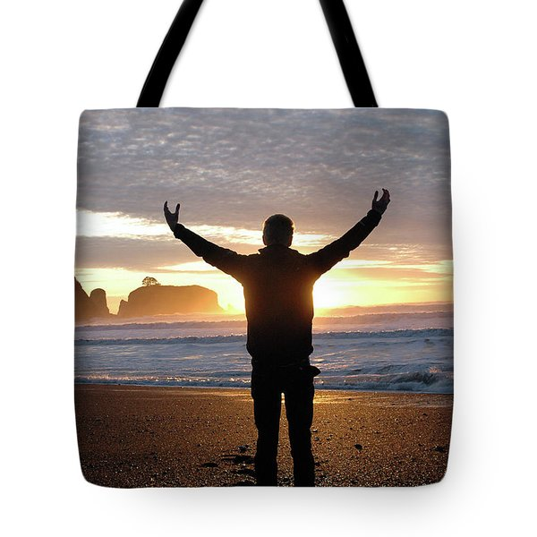 Tote Bag featuring the photograph Embrace by Jill Westbrook