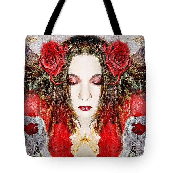 Embrace Me Tote Bag by Heather King