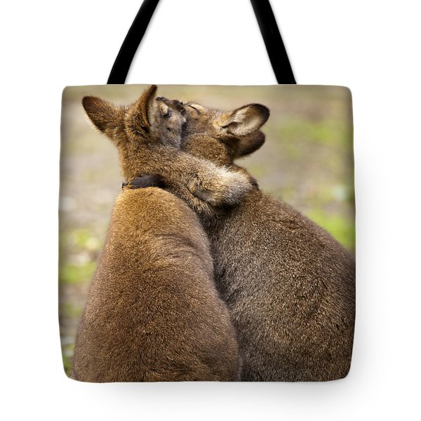 Embrace Tote Bag by Mike  Dawson