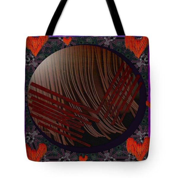 Embrace Our Earth With Love Pop Art Tote Bag by Pepita Selles