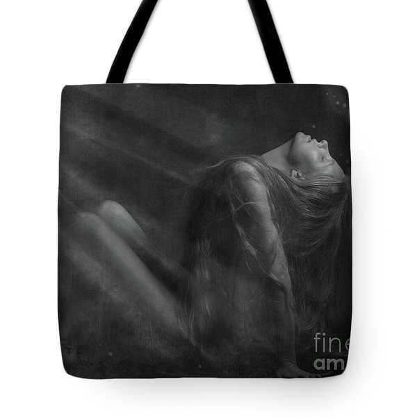 Embraced By The Light.. Tote Bag by Nina Stavlund