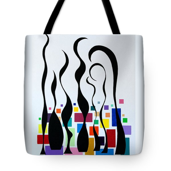 Embracing Tote Bag