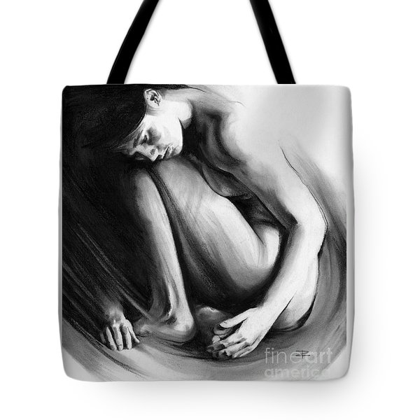 Embryonic II Tote Bag by Paul Davenport