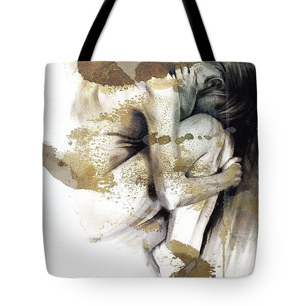 Embryonic IIi With Texture Tote Bag