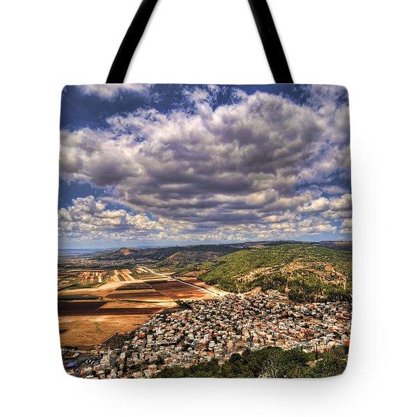 Emek Israel Tote Bag