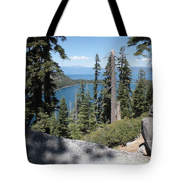 Emerald Bay Vista Tote Bag