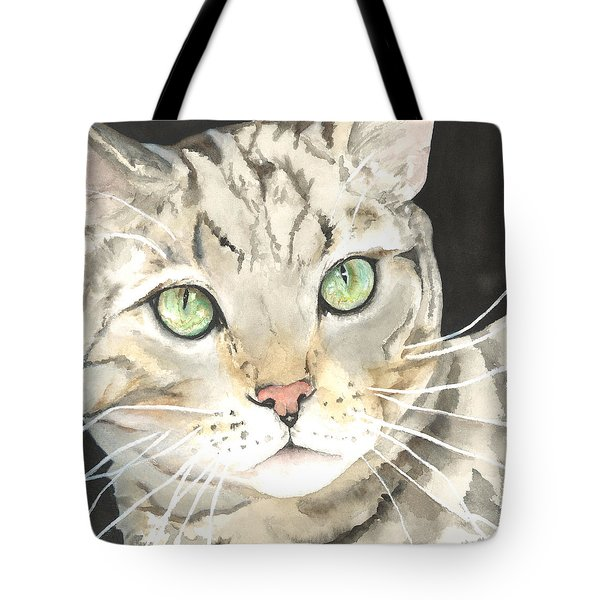 Emerald Eyes Tote Bag by Kimberly Lavelle