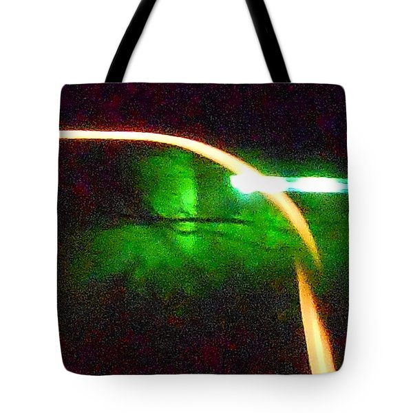 Emerald Fusion Tote Bag