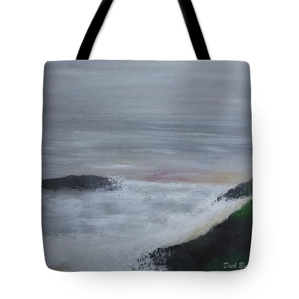 Emerald Isle Tote Bag by Dick Bourgault