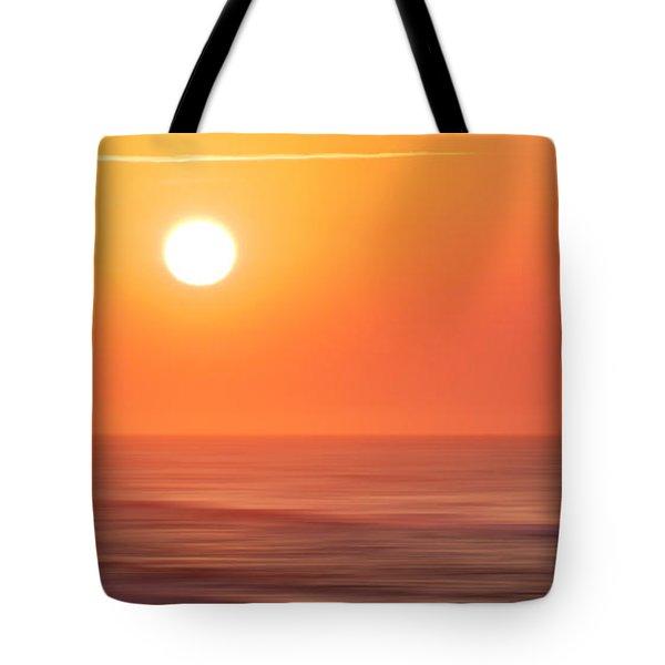 Emerald Isle Sunrise Tote Bag by Sharon Seaward