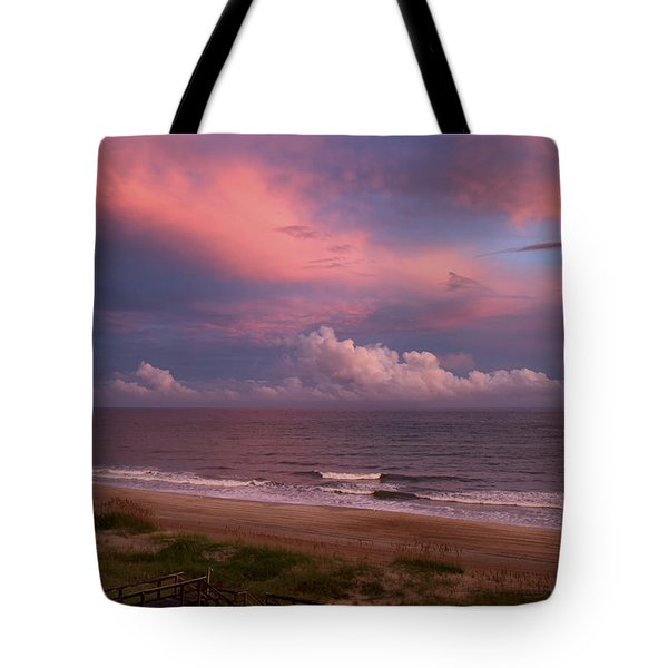 Emerald Isle Sunset Tote Bag