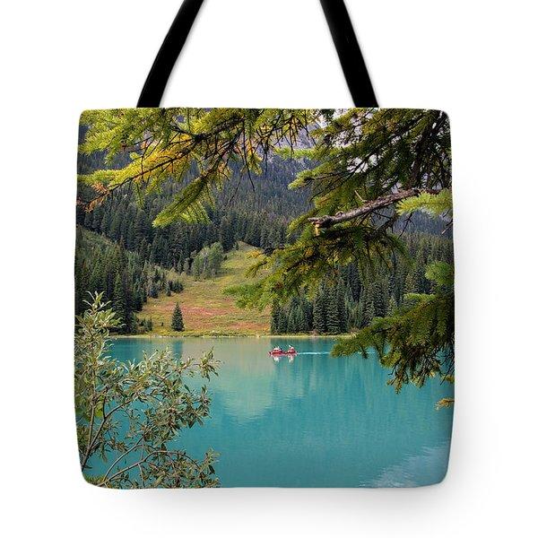 Emerald Lake British Columbia Tote Bag