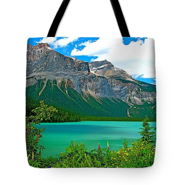 Emerald Lake In Yoho Np-bc Tote Bag