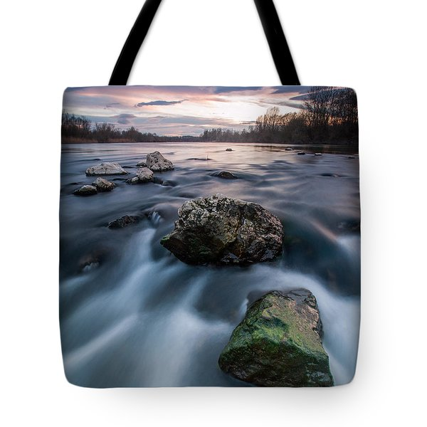 Emerald Rock Tote Bag by Davorin Mance