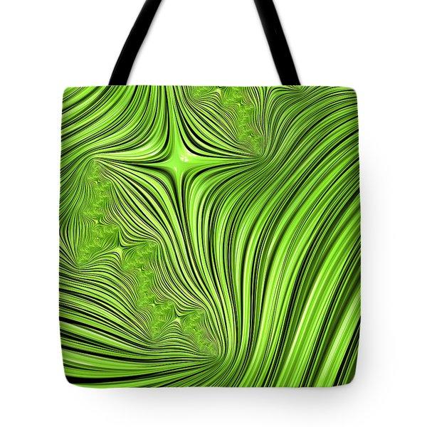 Emerald Scream Tote Bag