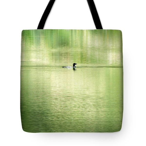 Emerald Water Tote Bag by Ramona Johnston