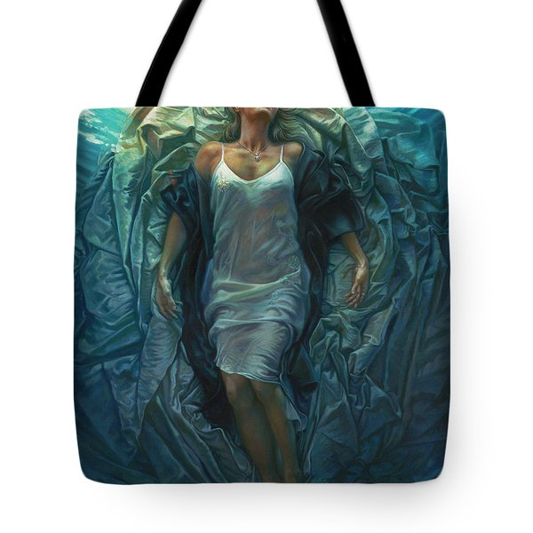 Emerge Painting Tote Bag