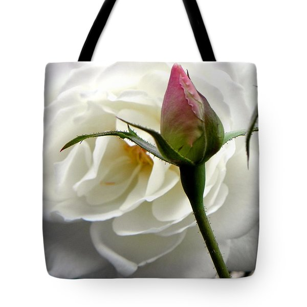 Tote Bag featuring the photograph Emergence by Deb Halloran