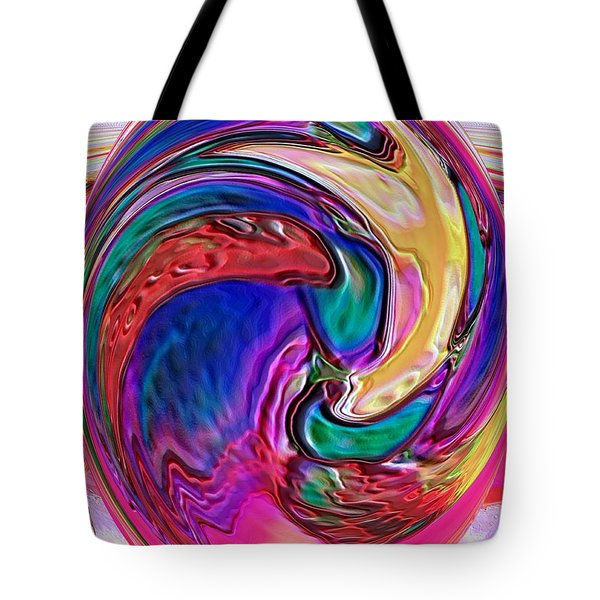Emergence - Digital Art Tote Bag