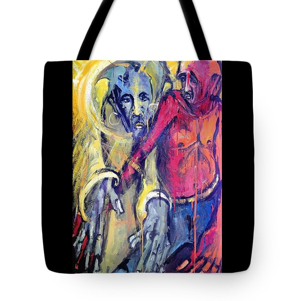 Emergence Of God The Father Tote Bag by Kenneth Agnello