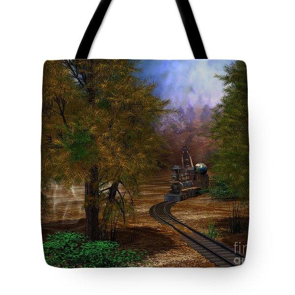 Emergence Tote Bag by Shari Nees