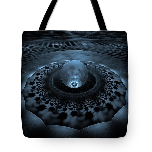 Emergence1 Tote Bag by GJ Blackman
