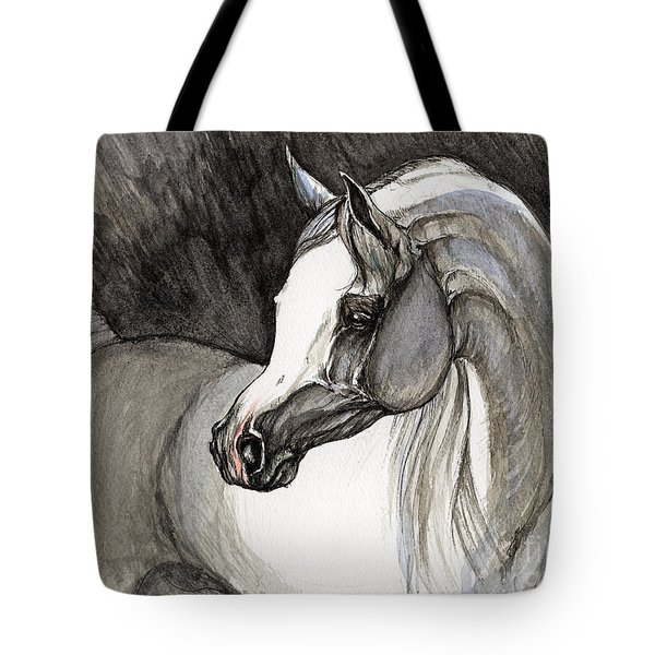 Emerging From The Darkness Tote Bag by Angel  Tarantella