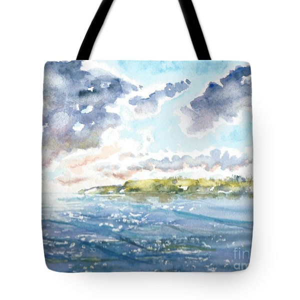 Emerging Sun  Tote Bag