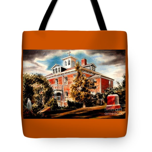 Emerson House Tote Bag by Kip DeVore