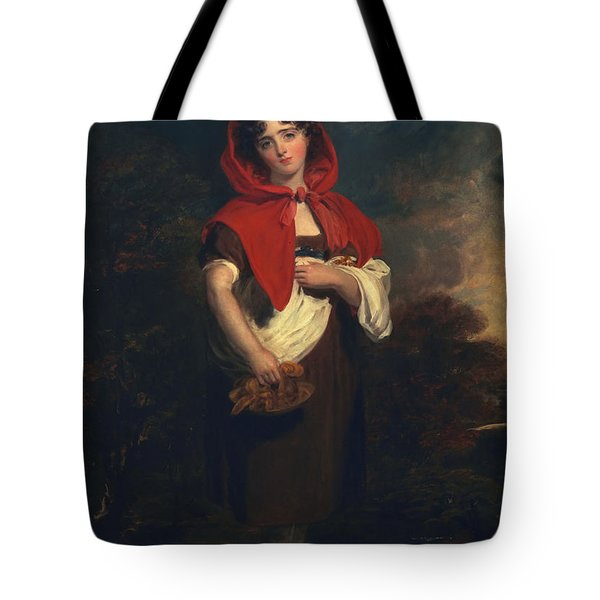Emily Anderson Little Red Riding Hood Tote Bag