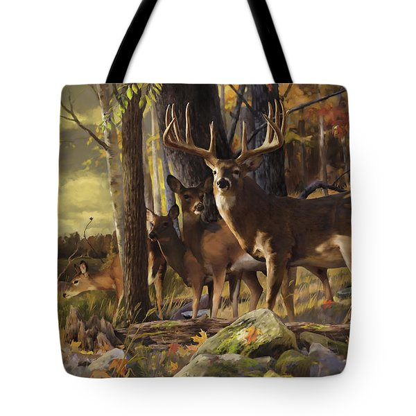 Eminence At The Forest Edge Tote Bag by Rob Corsetti