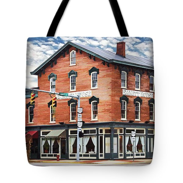 Emmitt House Corner Tote Bag