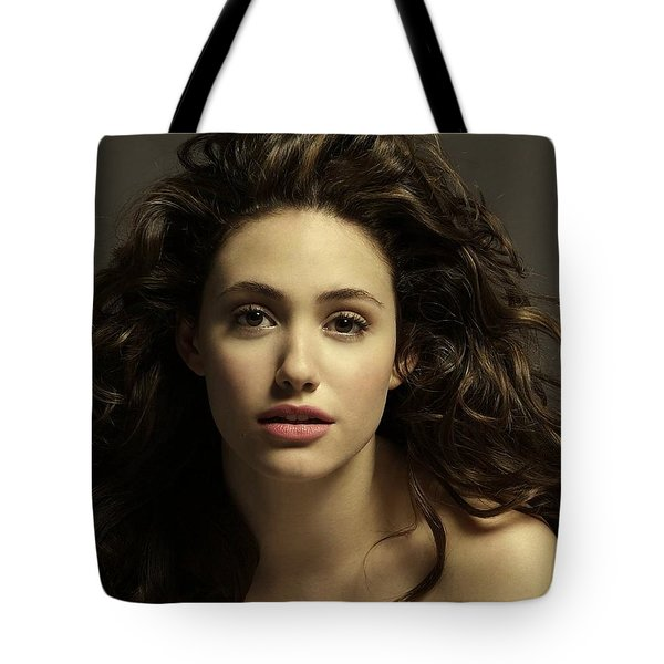 Emmy Rossum Tote Bag by Movie Poster Prints