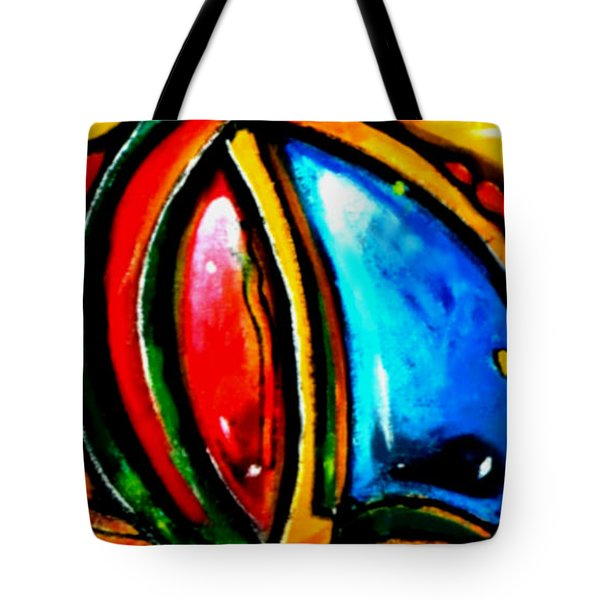 Emotional Touching Tote Bag by Marcello Cicchini