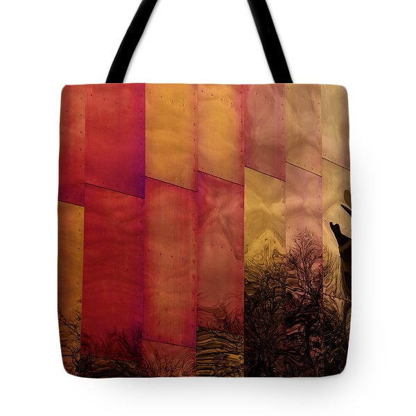 Emp Seattle Reflections  Tote Bag by Joanna Madloch
